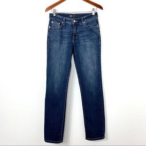 Levi's Mid Rise Skinny Jeans Blue Size 6